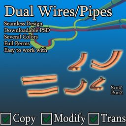 Dual Pipes/Wires